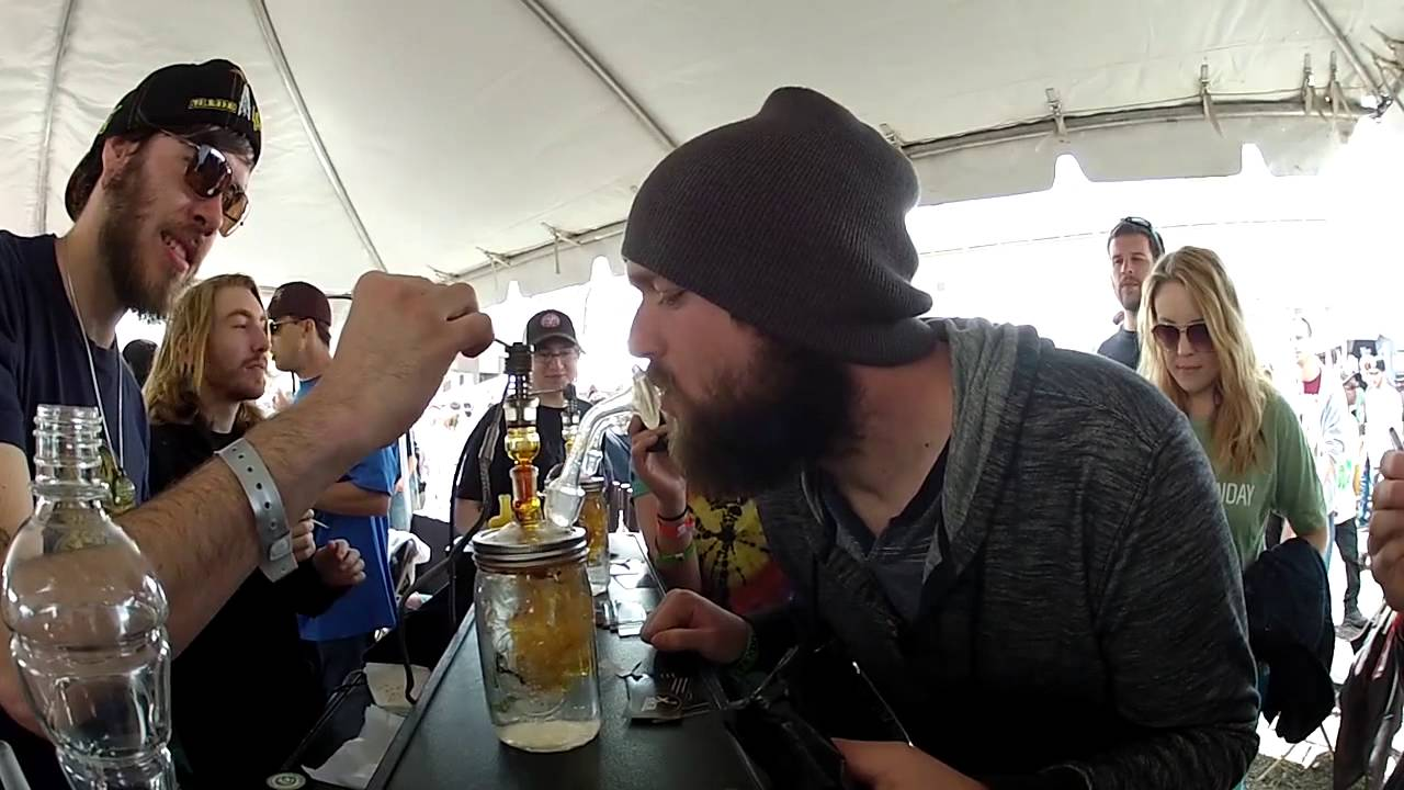 Brandon's 420 Dabs at the Cannabis Cup