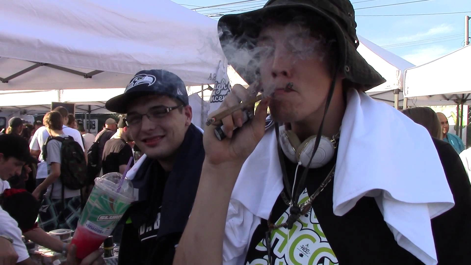 2nd US High Times Cannabis Cup, Seattle 2013 -CRTV