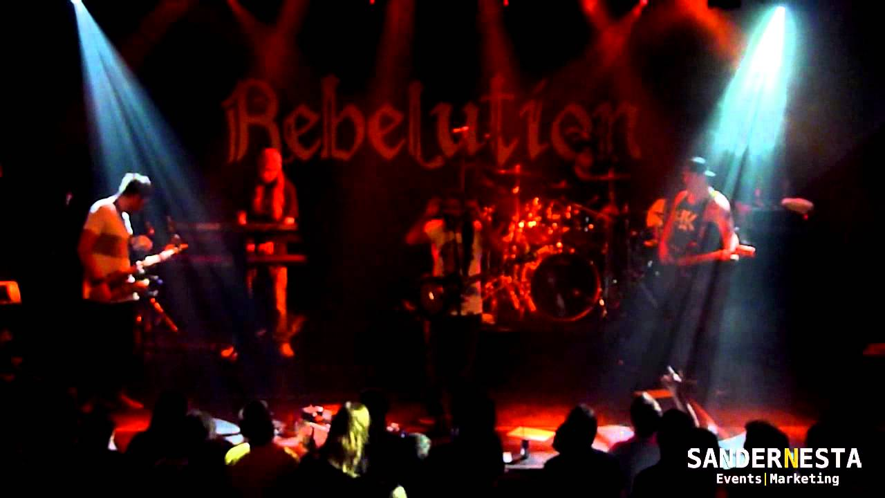 Rebelution Live – Roots Reggae Music @ Cannabis Cup 2014 – Melkweg, Amsterdam (NL)
