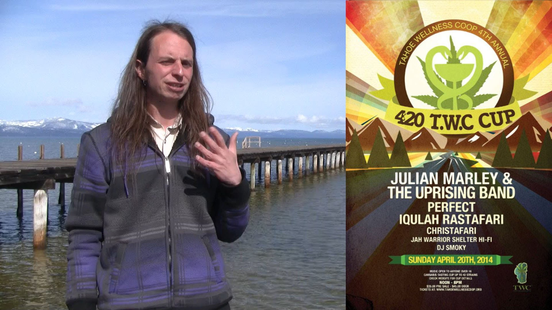 April 2014 in Tahoe: Spring Break, 4/20 Cannabis Cup w/ Julian Marley and the Uprising,