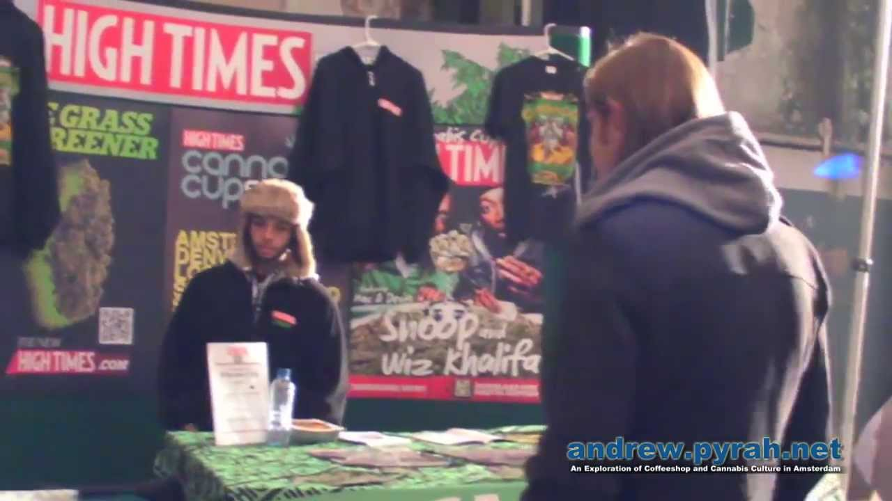 The 2013 Cannabis Cup Amsterdam Expo