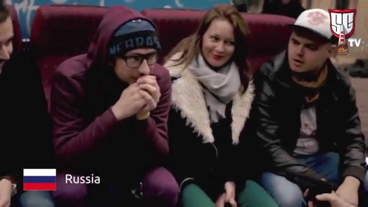In Amsterdam for the Cup – Russian Smokers at the Cannabis Cup – Smokers Guide Flashback Clip
